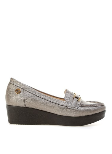 Pierre Cardin Pierre Cardin Platin Kadın Topuklu Ayakkabı Gri